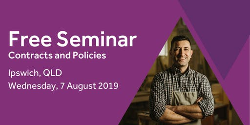 Free Seminar: Contracts and policies – Ipswich 7th August