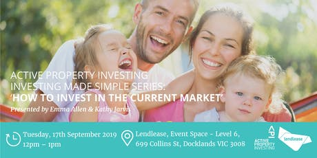 "Investing Made Simple Series ""How to invest in the current market"" tickets"