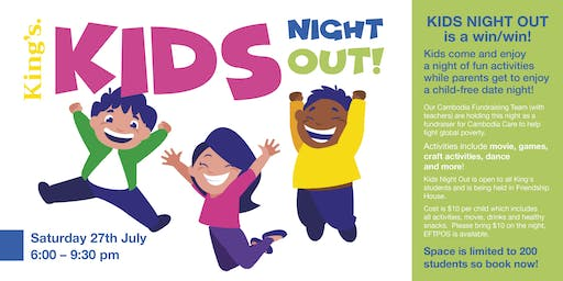 King's Kids Night Out!