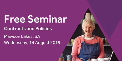 Free Seminar: Contracts and policies – Mawson Lakes 14th August