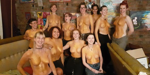 Induction into the Luscious Order of Golden Shield Maidens