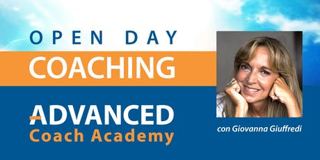 Advanced Coach Academy - OPEN DAY con Giovanna Giuffredi biglietti