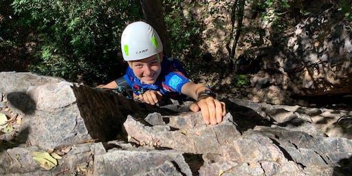 Experience Outdoor Rock Climbing