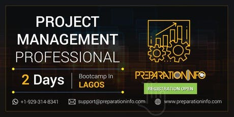PMP 2 Days Training (PMBOK 6th edition) and Workshop - Lagos tickets