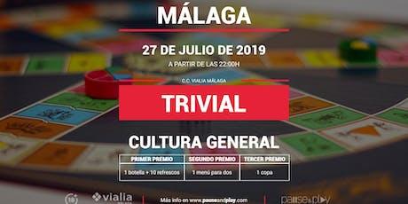 Trivial General en Pause&Play Vialia Málaga entradas