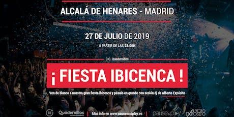 Fiesta Ibicenca con la sesión Dj de Alberto Expósito entradas