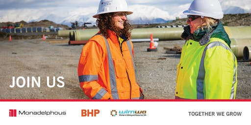 "WIMWA | ""WOMEN IN TRADES"" HOSTED BY MONADELPHOUS AND BHP"