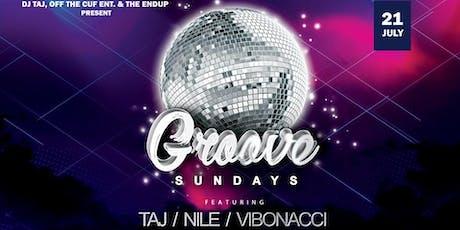 Groove Sundays feat. Taj, Nile & Vibonacci tickets