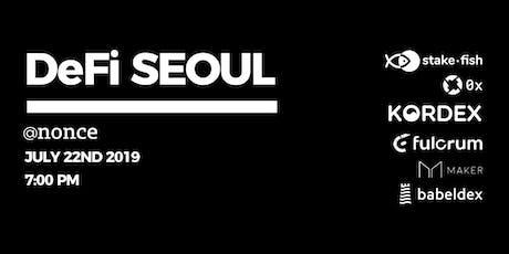 DeFi Seoul tickets