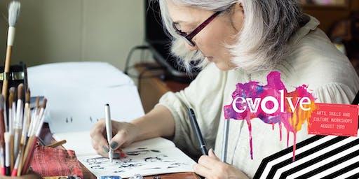 EVOLVE -  Seniors Storytelling Comics