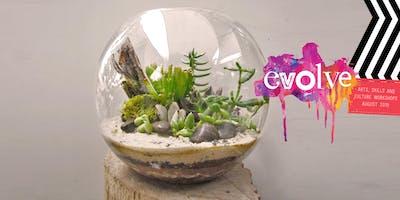 EVOLVE - Creating a Terrarium Workshop