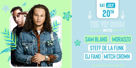 The VIP Room invites: Sam Blans & more 20-7 tickets