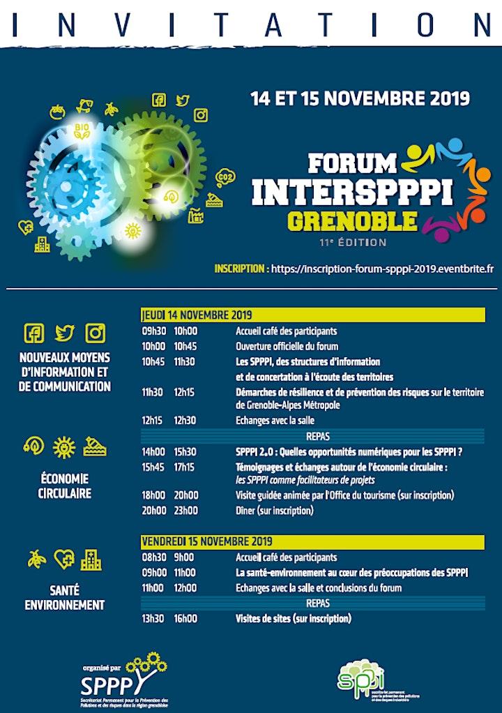 Image pour 11e Forum National Inter SPPPI