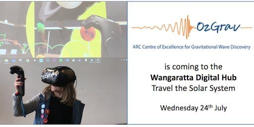 DTAC Wangaratta Space Week Event:  OzGrav VR Space Exhibit.