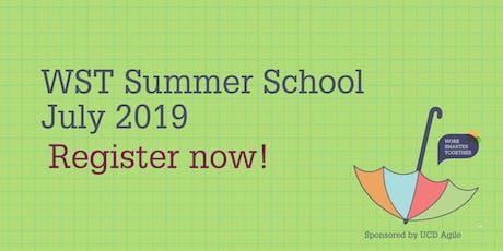 WST Summer School 2019 tickets