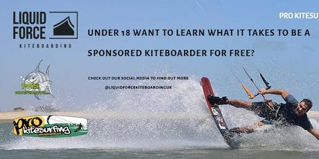 Liquid Force Kiteboarding UK Grom Search Round 2 tickets