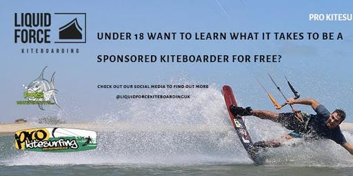 Liquid Force Kiteboarding UK Grom Search Round 2