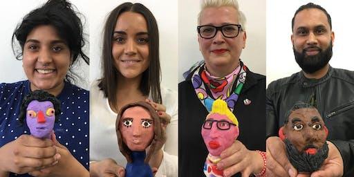 Plasticine Portrait Workshop