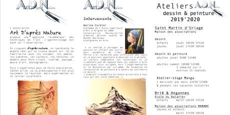 Art D'après Nature 2019 2020 billets