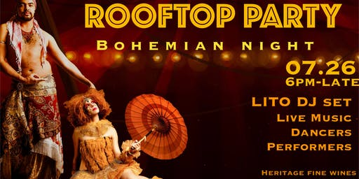 ROOFTOP PARTY   Bohemian Night