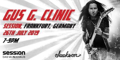 Gus G Clinic | session Frankfurt