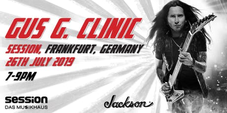 Gus G Clinic | session Frankfurt Tickets