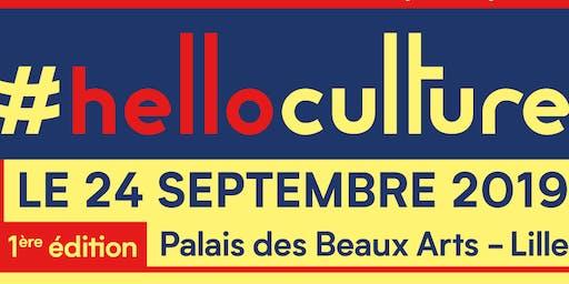 #HelloCulture, le 1er rendez vous de la rentrée culturelle à Lille !
