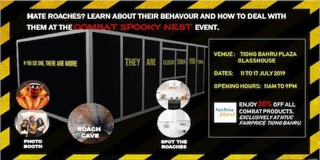 Combat Spooky Nest tickets
