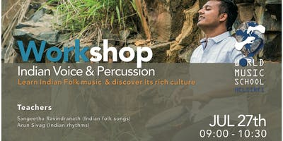 Indian Folk Voice & Percussion Workshop