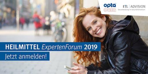 Heilmittel ExpertenForum Rostock 11.09.2019