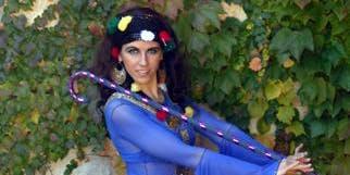 Taller de folclore árabe con bastón