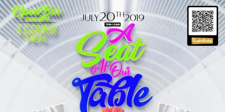 """""""A Seat @ Our Table"""" By: Freyygo (All Shades of White Theme)  tickets"""