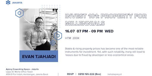 Invest 101: Property For Millennials