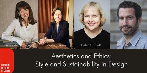 Aesthetics and Ethics: Style and Sustainability in Design
