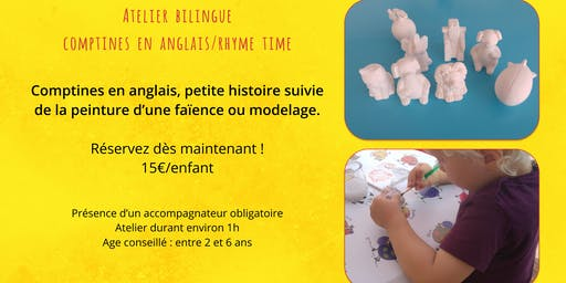 "Atelier Bilingue anglais ""Rhyme Time"""