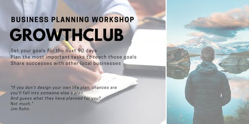 GrowthCLUB: 90 Day Business Planning - August