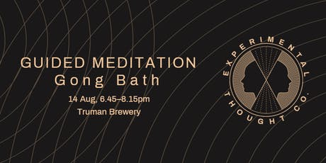 Guided Meditation Gong Bath tickets