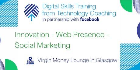 Facebook's Digital Skills Training - Glasgow tickets