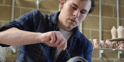 One to One pottery tutorial with Dominic Upson