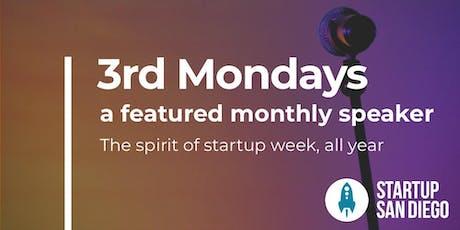 StartupSD 3rd Mondays - August 2019 tickets