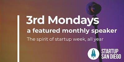 StartupSD 3rd Mondays - December 2019