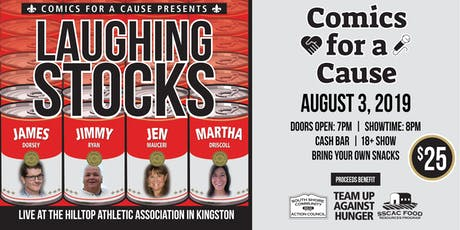 Comics for a Cause to benefit South Shore Community Action Council tickets