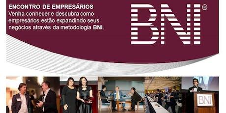 REUNIÃO DE NEGÓCIOS - BNI MÚLTIPLO, NETWORK QUE FUNCIONA ingressos
