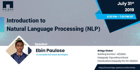Introduction to Natural Language Processing (NLP) tickets