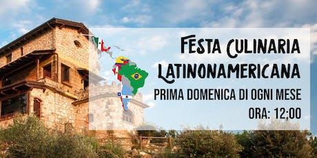 Festa Culinaria Latinoamericana in Villa de Luccheri tickets
