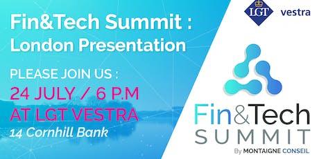 Come & Celebrate the 5th Fin&Tech Bordeaux Edition in London ! tickets