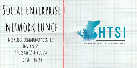 Social Enterprise Network Lunch tickets