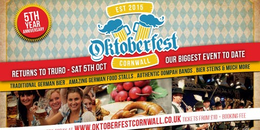 Oktoberfest Cornwall - 5th Year Special - Our bigg
