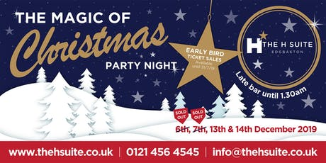 Magic of Christmas Party Night tickets