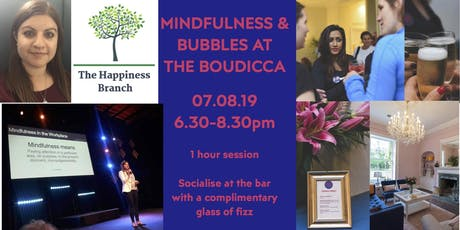 Mindfulness & Bubbles at the Boudicca tickets